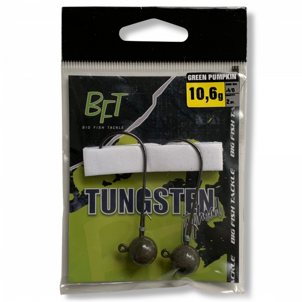 BFT-Tungsten-Jighead-10,6gr-2pcs